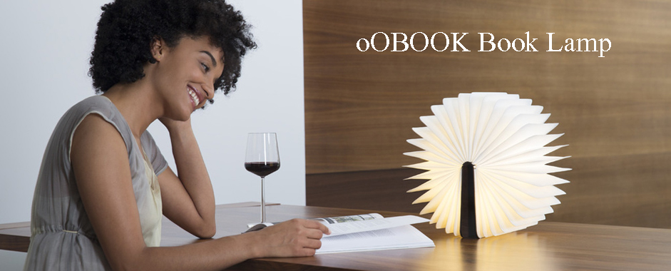 oOBOOK Book Lamp