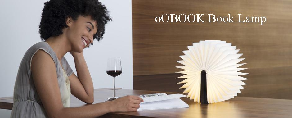 oOBOOK Book Lamp